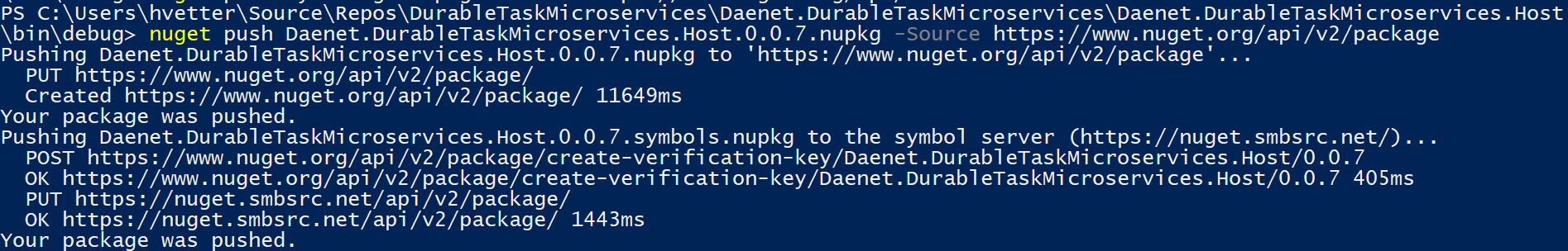 How to create and publish nuget symbol packages - Holger's Blog